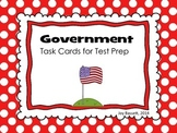 Government Task Cards - Test Prep