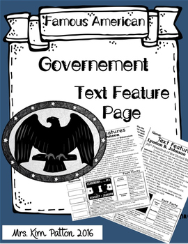 Government Text Features Page