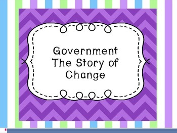 Government - A Story of Change PowerPoint