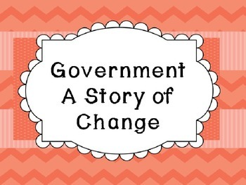 Michigan History: Government Unit - A Story of Change