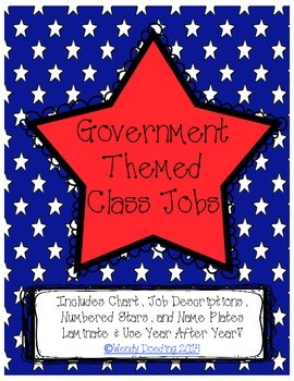 Government Themed Class Jobs