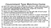 Government Type Matching