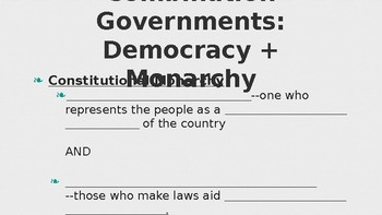 Government Types PowerPoint