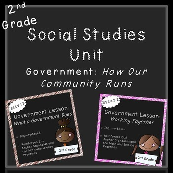Government Unit (2nd Grade, Standards Aligned)