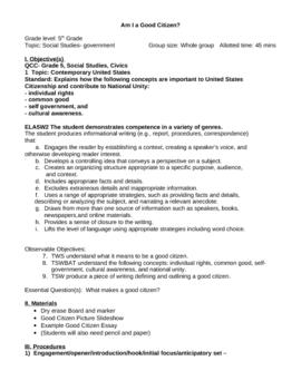 Government Unit - 3 Lessons