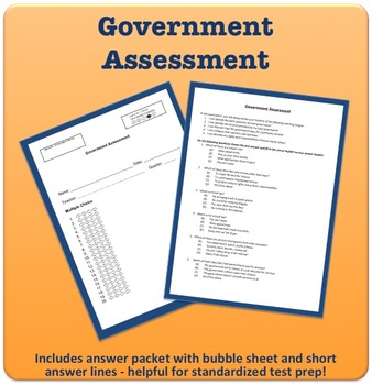 Government Unit Assessment