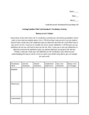 Government Unit One Vocabulary Activity