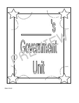 Government Unit Resources VA SOL SS3.10