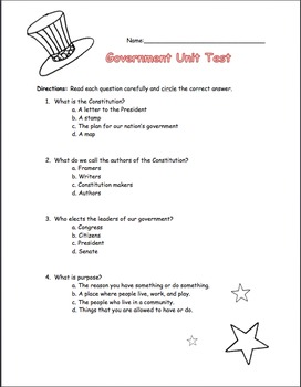 Government Unit Test