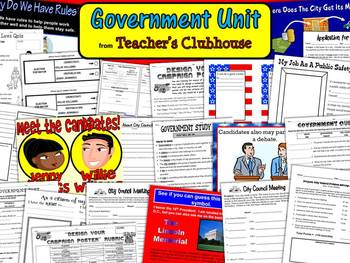 Government Unit from Teacher's Clubhouse