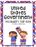 Government Vocabulary Flap Book