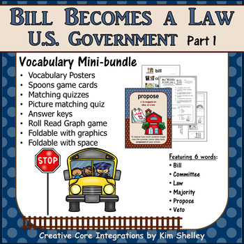 Government Vocabulary Mini-Bundle Bill Becomes Law 1