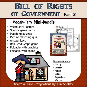Government Vocabulary Mini-Set Bill Becomes a Law Part 2