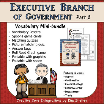 Government Vocabulary Mini-Bundle Executive 2