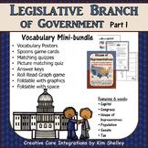 Government Vocabulary Mini-Set Legislative Branch Part 1