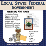 Government Vocabulary Mini-Set Levels of Government