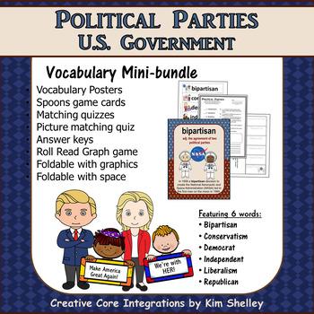 Government Vocabulary Mini-Set Political Parties