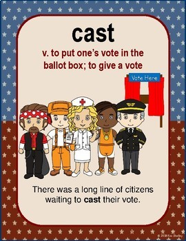Government Vocabulary Mini-Set Voting 1