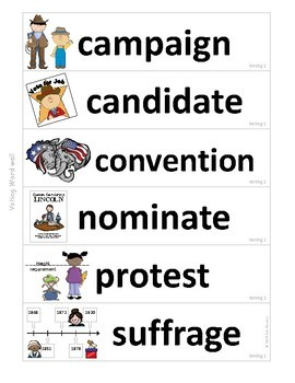Government Vocabulary Mini-Bundle Voting 2