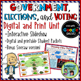 Branches of Government, Voting, and Elections Digital Unit