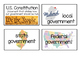 Government Word Wall Cards