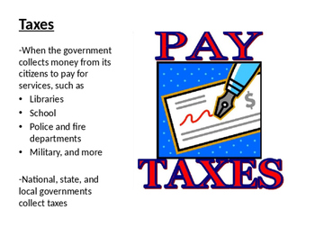 Government Word Wall/ Flashcards