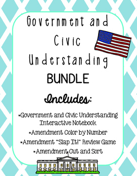 Government and Civic Understanding BUNDLE