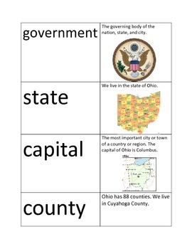 Government and Bill of Rights Flashcards