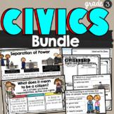 Government and Civics Bundle 3rd Grade SS3CG1 and SS3CG2