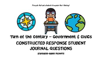 Government and Civics Social Studies Journal Prompts