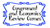 Government and Economics Review Games