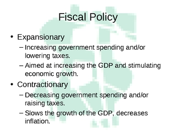 Government and the Economy Power Point