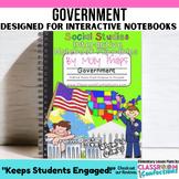 American Government Interactive Notebook: 4th Grade Social