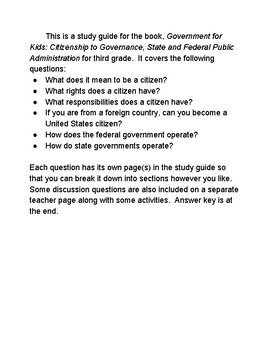 Government for Kids Study Guide