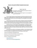 BC: Grade 5 Canadian Government Unit Plan (British Columbia)