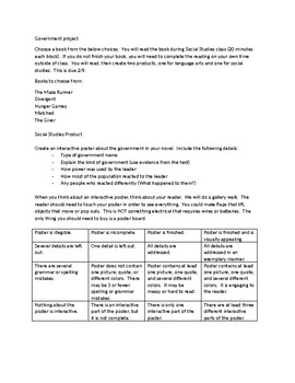 Government novel project