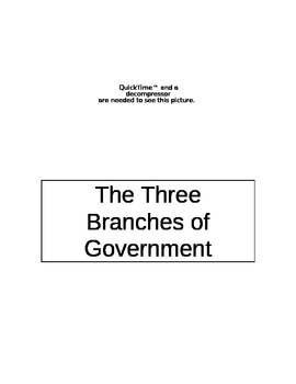 Government:The Three Branches