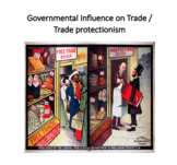 Governmental Influence on Trade / Trade protectionism (Int
