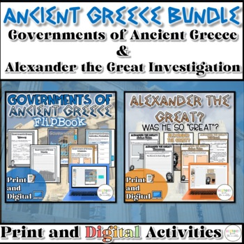 Governments of Greece &  Alexander the Great? {Digital AND Paper}