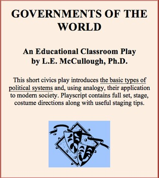 Governments of the World - A Civics Play