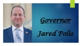 Governor Jared Polis (CO) Biography PowerPoint