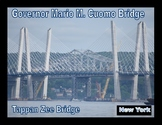 Governor Mario M. Cuomo Bridge and Tappan Zee Brodge NY Poster
