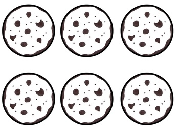 Gr 1-3: FREE Fraction Cookie Math Game CCS