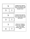 Gr 1 Comparison Word Problems-Matching