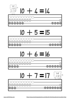 Gr.1 Count forward from 11 – 20 in ones