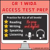 ESL Test Prep Package Gr. 1