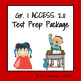 ESL Test Prep Package Gr. 1