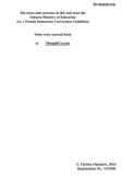 Gr. 1 F.I. Independent Student Workbook - Pages - April 4, 2018