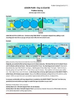 Gr. 2-3 Lesson 11 of 12: Elapsed Time Problem Solving
