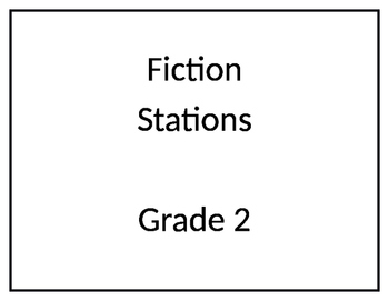 Gr 2 Fiction Reading Stations